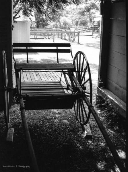 Photograph - Farm Carriage by Ross Henton