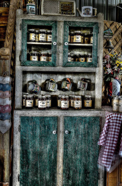 Photograph - Farm Cupboard by David Morefield