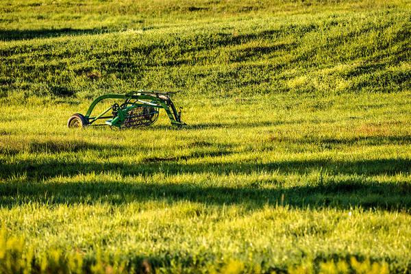 Photograph - Farm Equipment In A Field by  Onyonet  Photo Studios