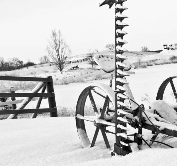 Photograph - Farm Equipment by Nick Mares