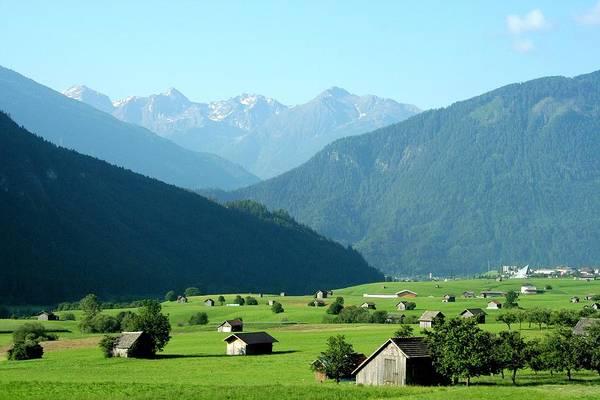 Photograph - Farm Fields Of Bavaria by Gordon Elwell