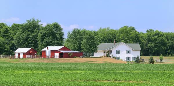 Warehouse Photograph - Farm by Fstoplight