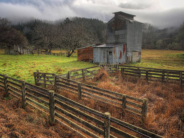 Photograph - Farm Shed by Kim Andelkovic