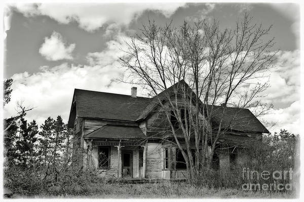 Photograph - Farm House Ruins by Ms Judi