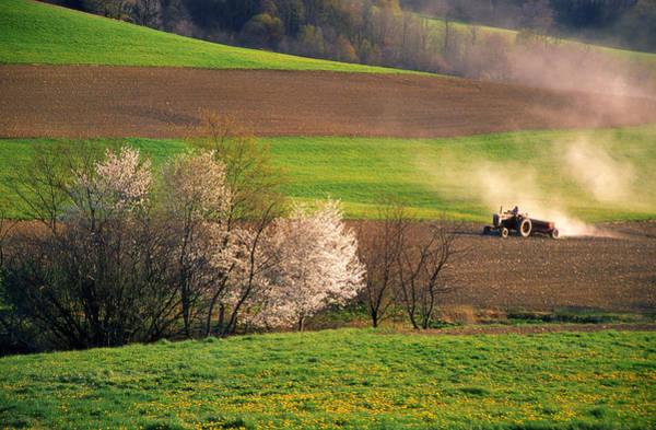 Somerset County Photograph - Farm Landscape Springtime Pennsylvania by Blair Seitz