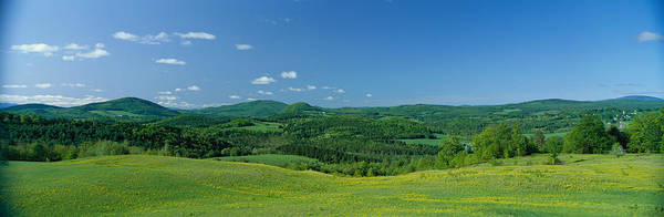 Vt Wall Art - Photograph - Farm, Peacham, Vermont, Usa by Panoramic Images