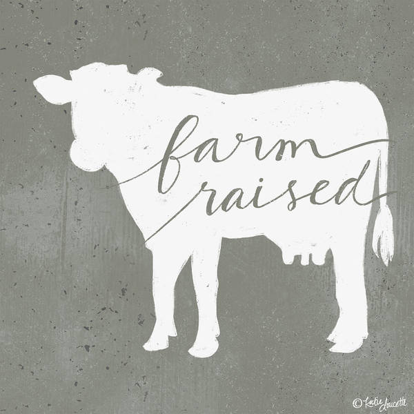 Farmhouse Kitchen Painting - Farm Raised by Katie Doucette