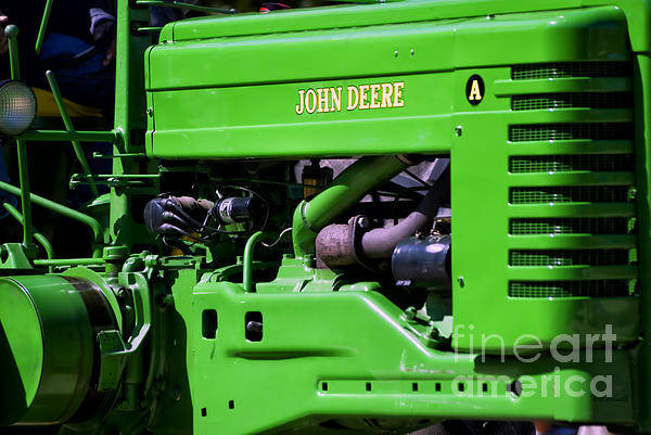 Wall Art - Photograph - Farm Tractor 03 by Thomas Woolworth