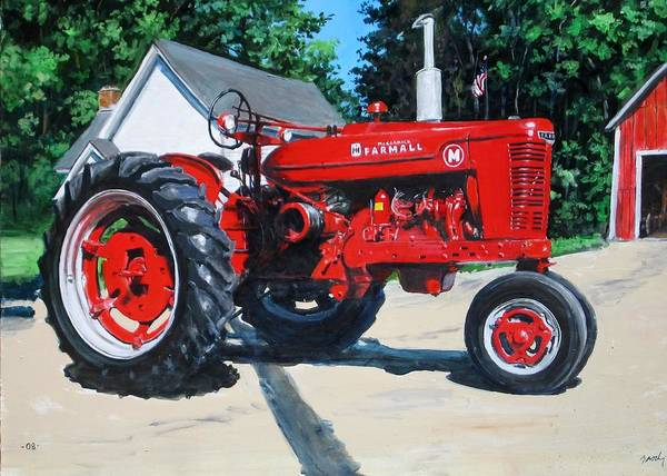 Painting - Farmall M by William Brody