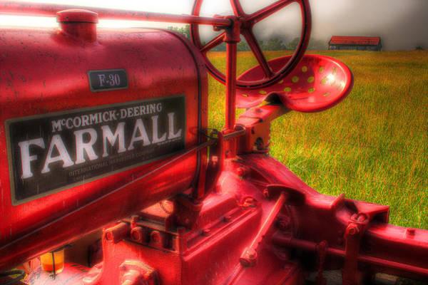 Farmall Photograph - Farmall Morning by Michael Eingle