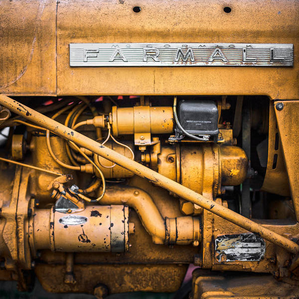Photograph - Farmall by Robert Clifford