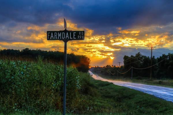 Wall Art - Photograph - Farmdale Road by Anna-Lee Cappaert