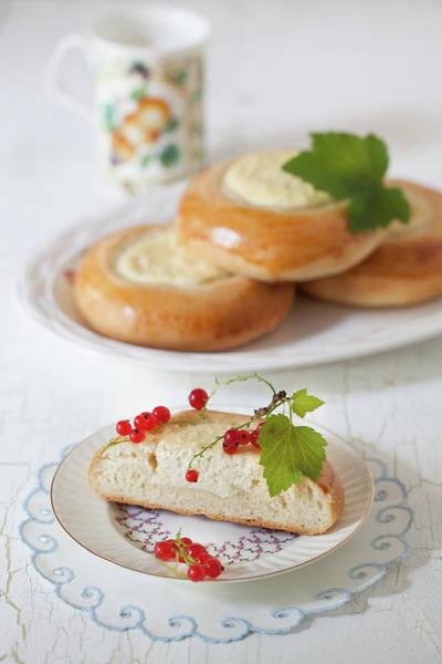Mug Photograph - Farmer Cheese Pastry by Yelena Strokin