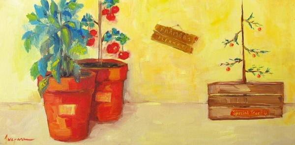Painting - Farmer's Market Botanical Section by Patricia Awapara