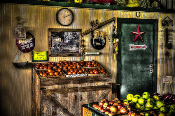 Photograph - Farmer's Market by David Morefield