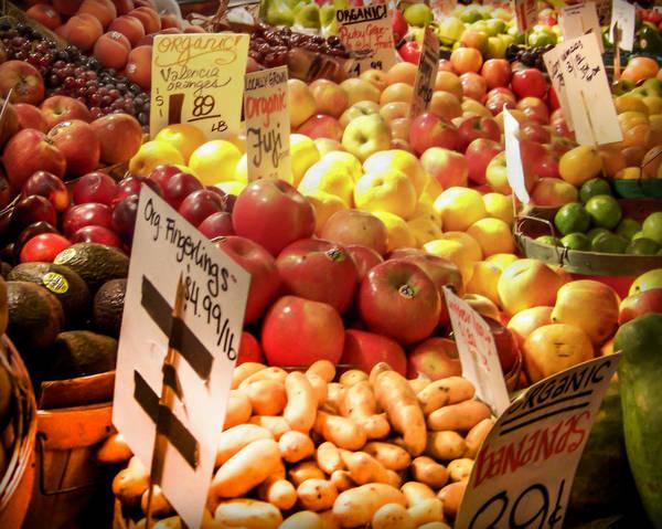 Fruit Stand Wall Art - Photograph - Farmers Market by Karen Wiles