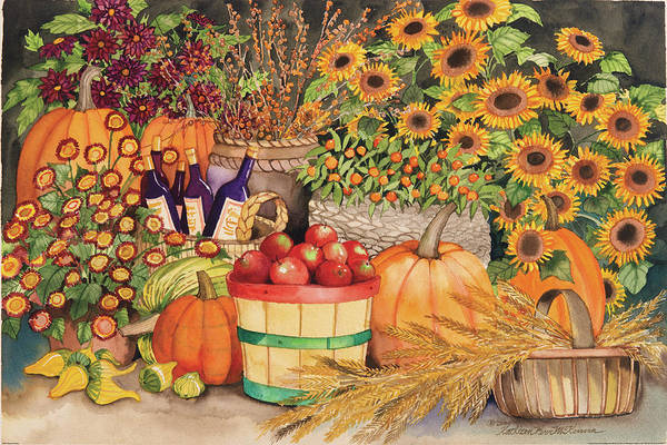 Wall Art - Painting - Farmers Market by Kathleen Parr Mckenna