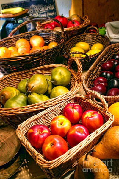 Fruit Stand Wall Art - Photograph - Farmer's Market by Olivier Le Queinec