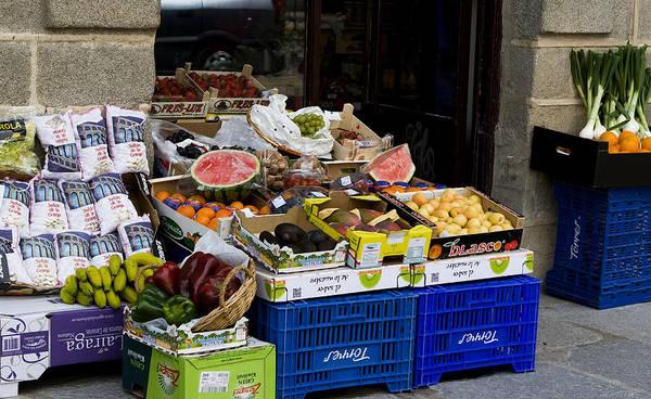 Photograph - Farmers Market Segovia by Lorraine Devon Wilke