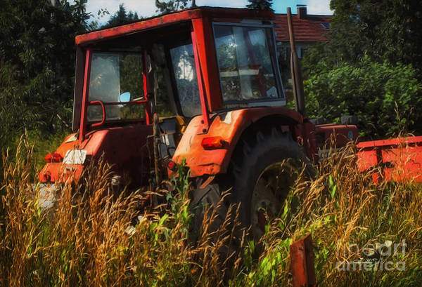 Photograph - Farmer's Vehicle by Jutta Maria Pusl
