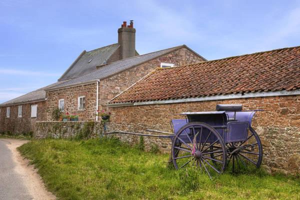 Wall Art - Photograph - farmhouse on Jersey by Joana Kruse
