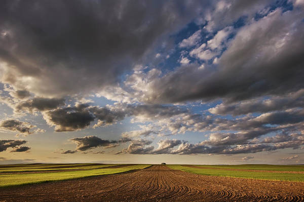 Montana Wall Art - Photograph - Farmland Under A Big Sky by Doug Roane