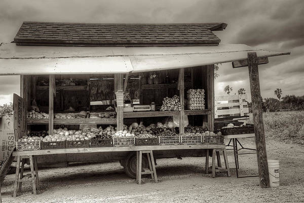 Wall Art - Photograph - Farmstand by William Wetmore