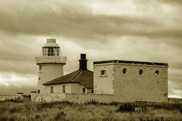 Photograph - Farne Lighthouse by Dennis Dame