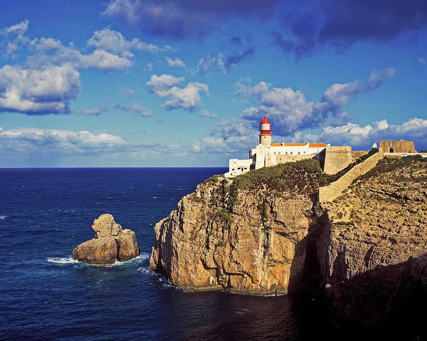 Sagre Wall Art - Photograph - Farol De Cabo De Sao Vicente, Algarve by Hans-peter Merten