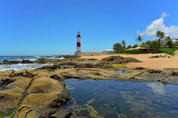 Bahia Photograph - Farol Itapua - Salvador Da Bahia by Werner Büchel
