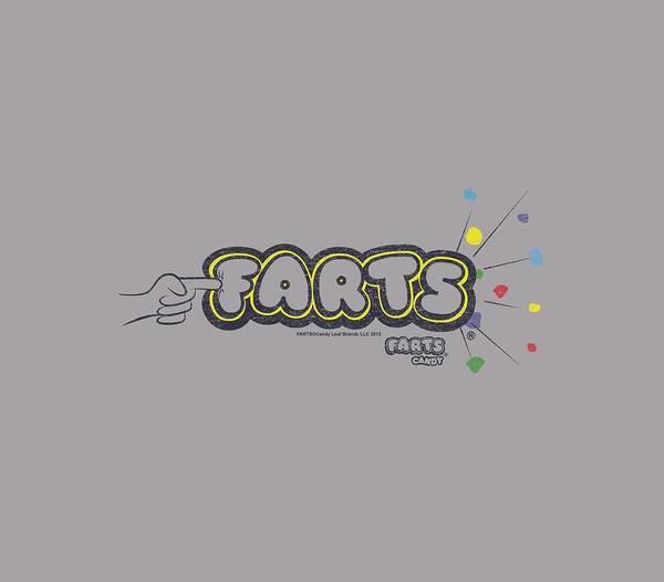 Novelty Digital Art - Farts Candy - Finger Logo by Brand A