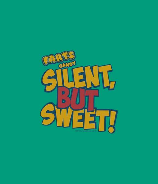 Novelty Digital Art - Farts Candy - Silent But Sweet by Brand A
