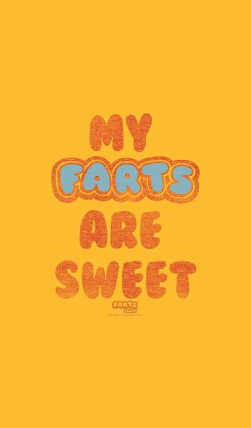 Novelty Digital Art - Farts Candy - Sweet Farts by Brand A