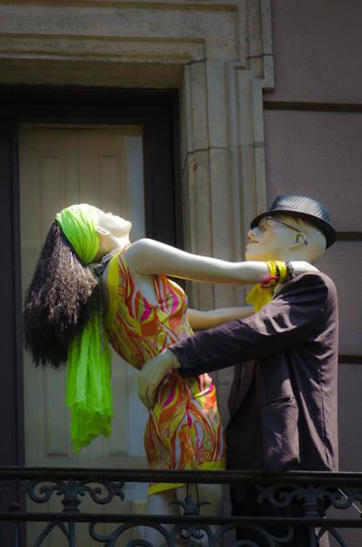Photograph - Fashion Dolls Dancing by Sotiris Filippou