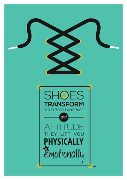 Wall Art - Digital Art - Christian Louboutin Footwear Designer Typography Quotes Poster by Lab No 4 - The Quotography Department