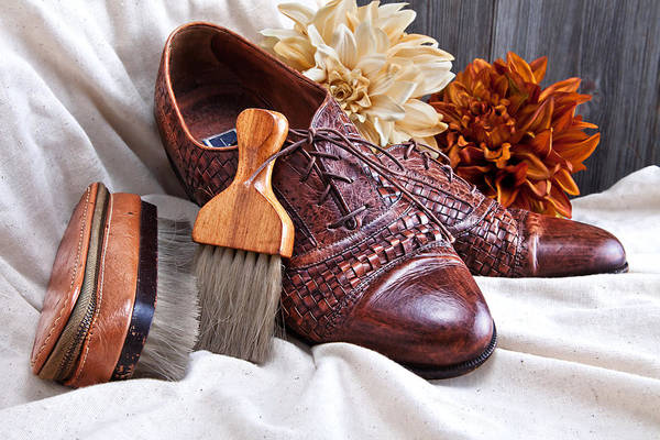 Accessories Photograph - Fashionable Italian Shoes Still Life by Tom Mc Nemar