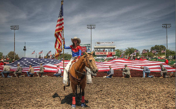 Photograph - Fastest Rodeo On Earth by John King