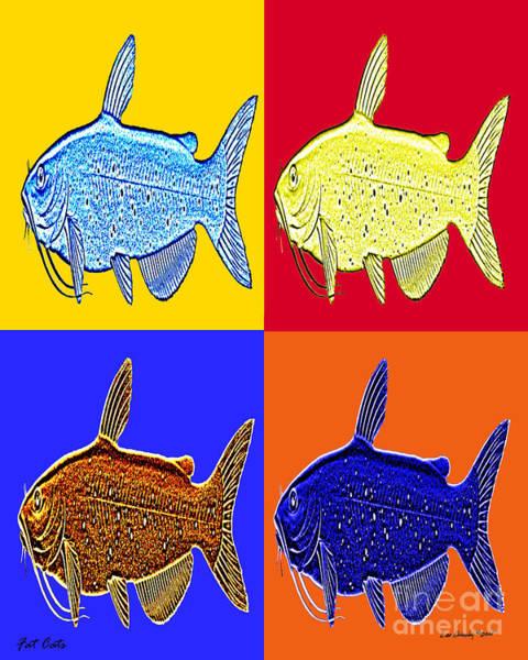 Digital Art - Fat Cats by Lee Owenby
