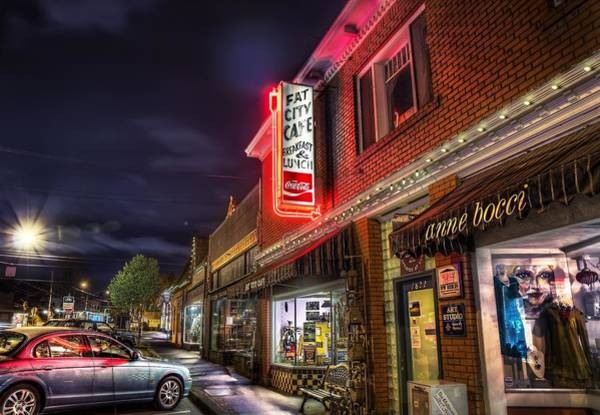 Photograph - Fat City Cafe by Doc Braham
