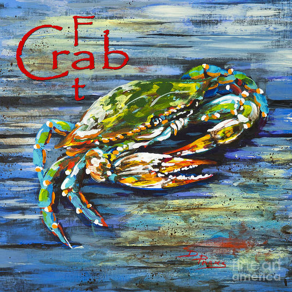 Painting - Fat Crab by Dianne Parks