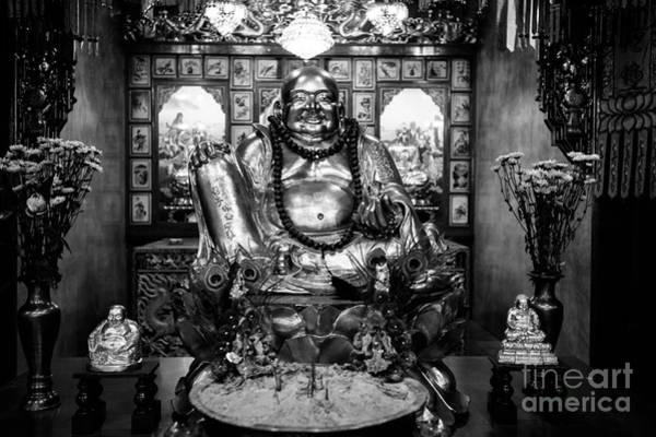 Wall Art - Photograph - Fat Happy Buddha by Dean Harte