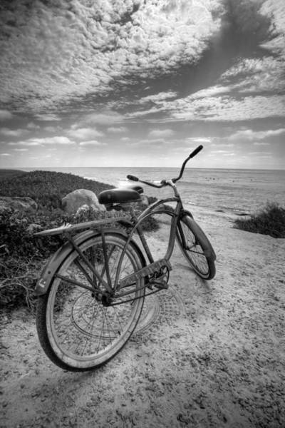 Photograph - Fat Tire Black And White by Peter Tellone