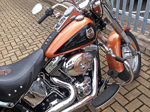 Photograph - Fatboy - 96 Cubic Inches by Gill Billington