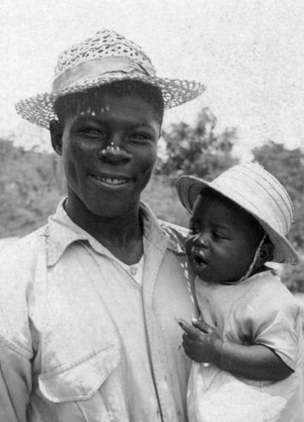 Andros Photograph - Father And Child, C1935 by Granger