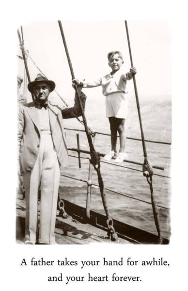 Photograph - Father And Son by Diana Haronis