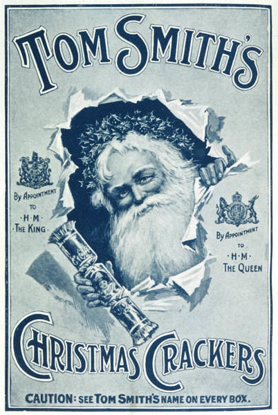 Wall Art - Drawing - Father Christmas   Advertising Tom by  Illustrated London News Ltd/Mar