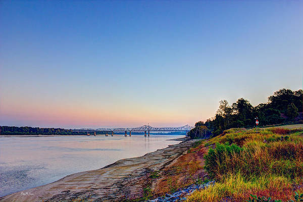 Photograph - River - Bridge - River Bank - Father Of Rivers by Barry Jones