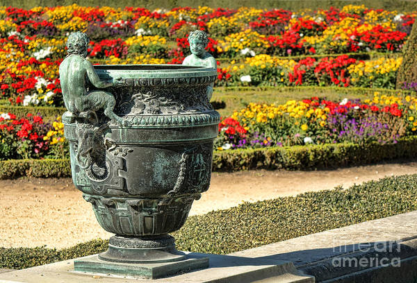 Versailles Wall Art - Photograph - Fauns In Versailles by Olivier Le Queinec