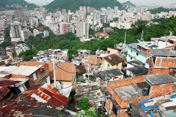 High-rise Wall Art - Photograph - Favela In Rio De Janeiro by Jeremy Walker
