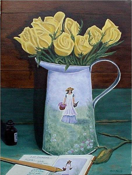 Painting - Favorite Things by Fran Brooks